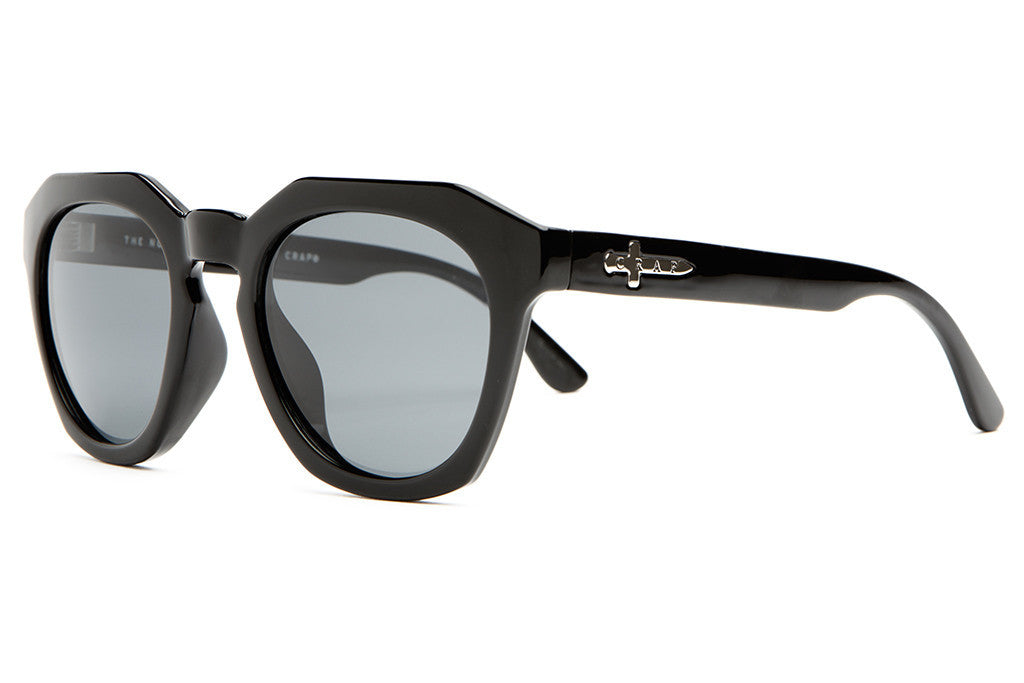 The No Wave - Gloss Black - w/ Polarized Grey Lenses - Sunglasses