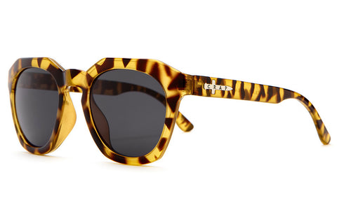The No Wave - Gloss Jungle Tortoise - w/ Grey CR-39 Lenses - Sunglasses