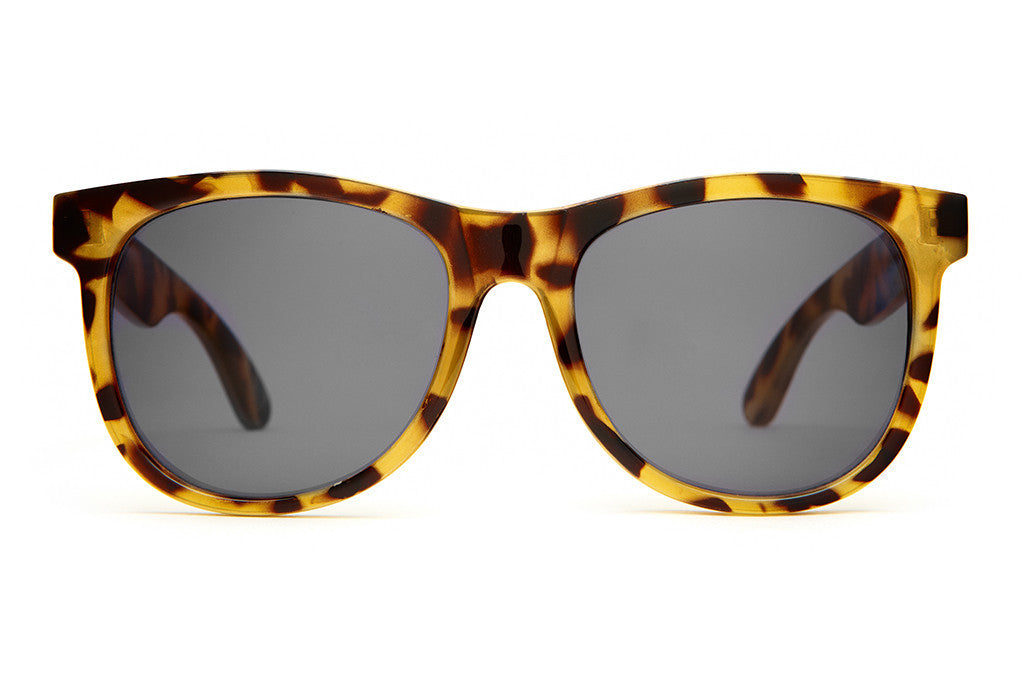 The Nudie Mag - Gloss Jungle Tortoise - w/ Grey CR-39 Lenses - Sunglasses