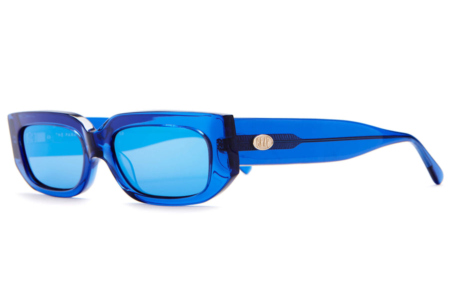 The Paradise Machine - Crystal Blue - / Reflective Blue - Sunglasses