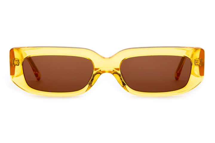 The Paradise Machine - Crystal Sunflower - / Amber - Sunglasses
