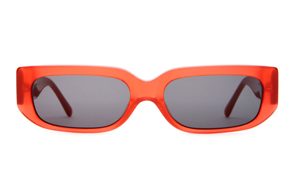 The Paradise Machine - Deep Red - / Grey - Sunglasses