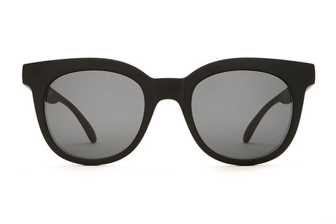 The Pop Control - Flat Black - w/ Grey CR-39 Lenses - Sunglasses