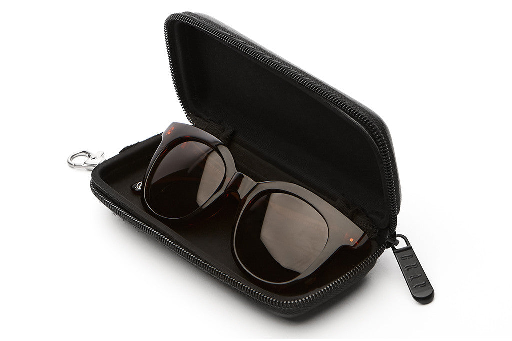 The Pop Control - Gloss Brown Tortoise - w/ Polarized Amber Lenses - Sunglasses