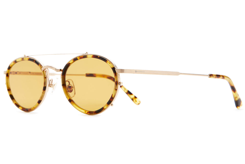 The Riddim Safari - Brushed Gold & Tokyo Tortoise - / Mustard - Sunglasses
