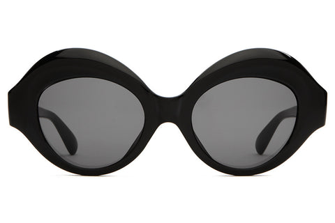 The Saloma Tropic - Gloss Black - w/ Grey CR-39 Lenses - Sunglasses