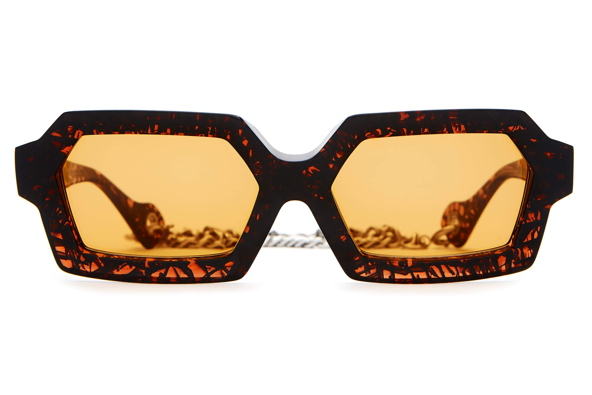 The Sex-Ray Spex by The Growlers - Heavy Syrup - / Burnt Orange - Sunglasses