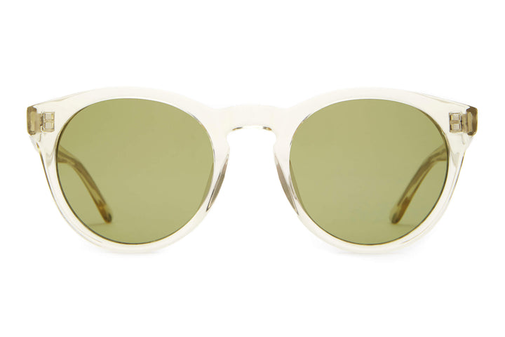 The Shake Appeal - Crystal Champagne - / Olive - Sunglasses