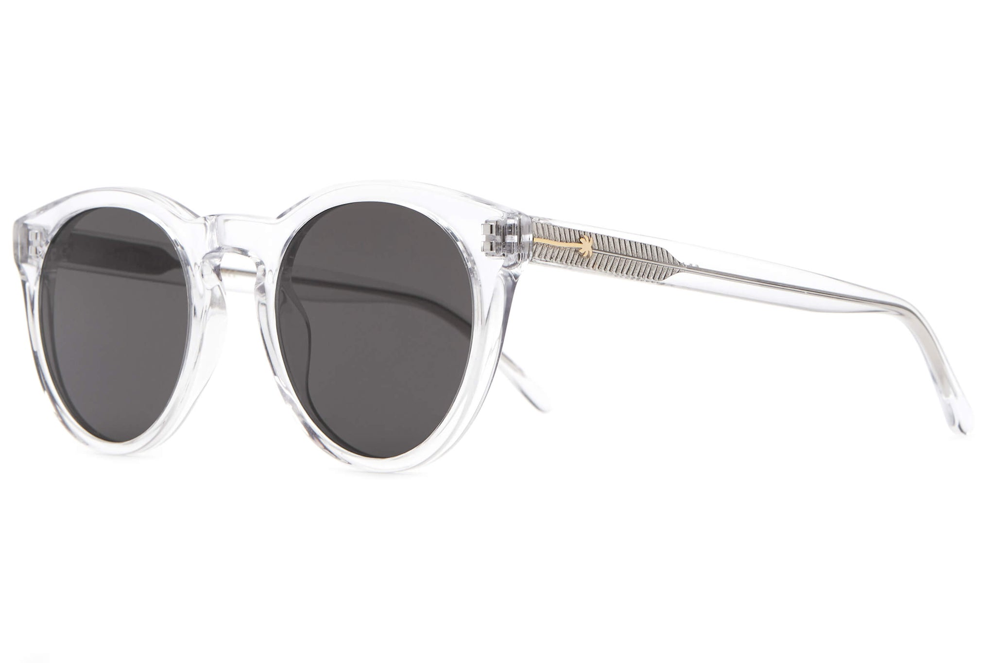 The Shake Appeal - Crystal - / Grey - Sunglasses