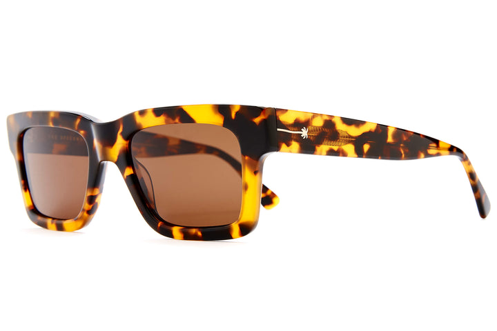The Speedway - Rum Havana Tortoise - / Polarized Amber - Sunglasses