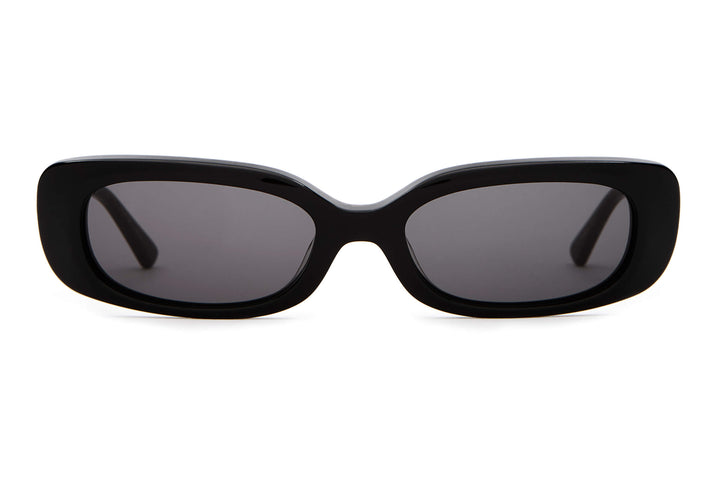 The Sugar Rush - Black & Leopard - / Grey - Sunglasses