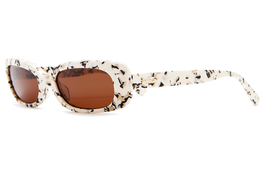 The Sugar Rush - Cookie Dough - / Amber - Sunglasses
