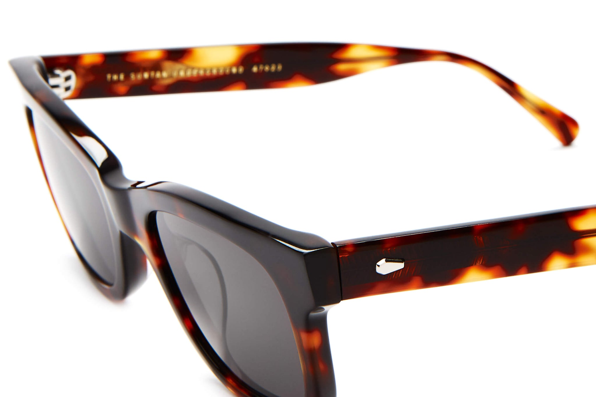 The Suntan Underground - Dark Tortoise - / Grey - Sunglasses