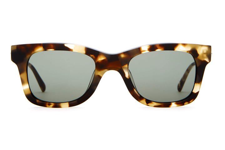 The Suntan Underground - Jaguar Tortoise - / Polarized G15 - Sunglasses