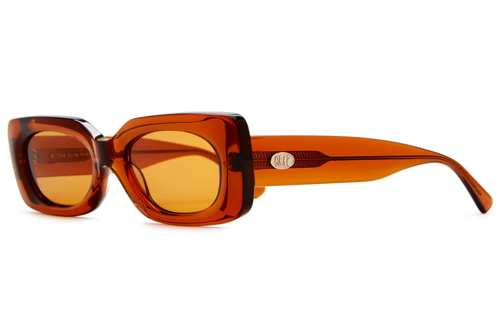 The Supa Phreek - Crystal Bourbon - / Burnt Orange - Sunglasses