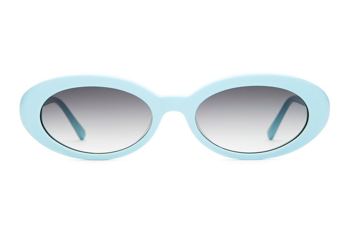 The Sweet Leaf - Sky Blue - / Grey Gradient - Sunglasses