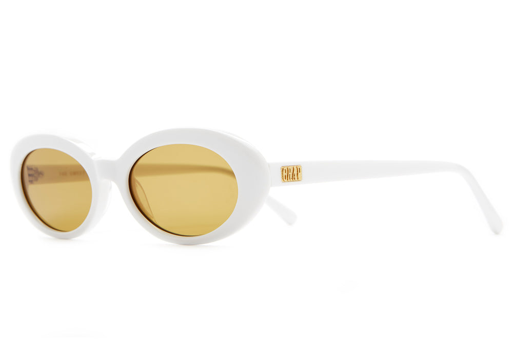 The Sweet Leaf - White - / Mustard - Sunglasses