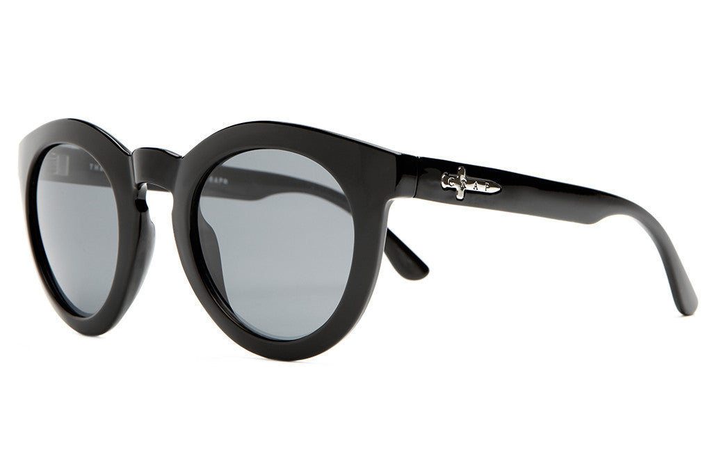 The T.V. Eye - Gloss Black - w/ Polarized Grey Lenses - Sunglasses