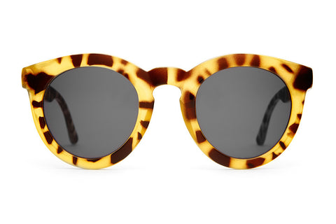 The T.V. Eye - Gloss Jungle Tortoise - w/ Grey CR-39 - Sunglasses
