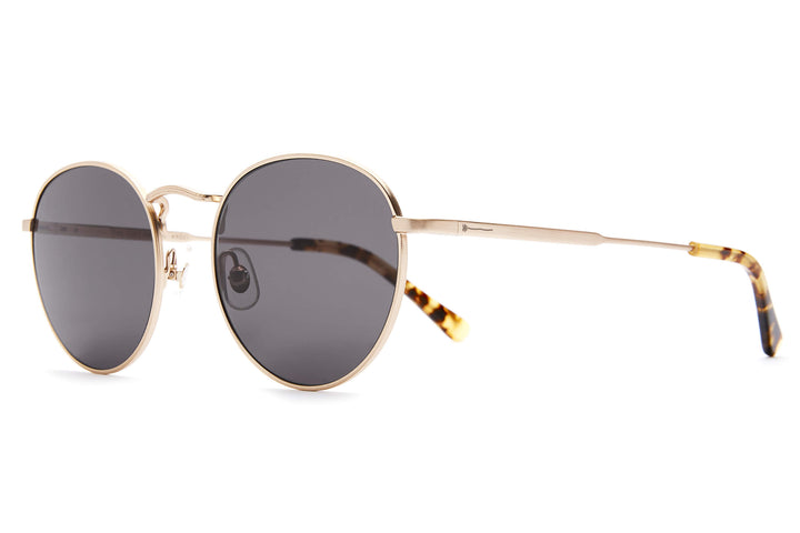 The Tuff Patrol - Brushed Gold / Grey - Sunglasses