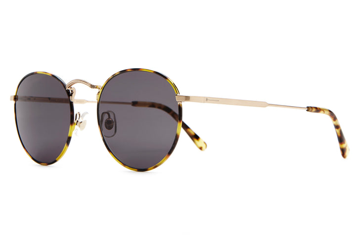 The Tuff Patrol - Brushed Gold & Tokyo Tortoise - / Grey - Sunglasses