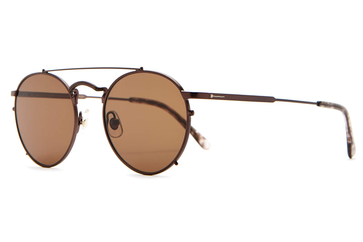 The Tuff Safari - Espresso & Espresso Tortoise - / Amber - Sunglasses