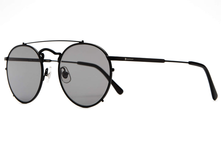 The Tuff Safari - Matte Black - / Polarized Grey - Sunglasses