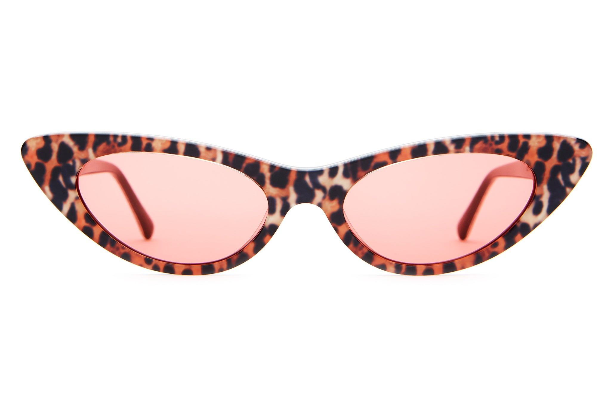 153b7ed390c The Ultra Jungle - Leopard -   Cherry Red - Sunglasses