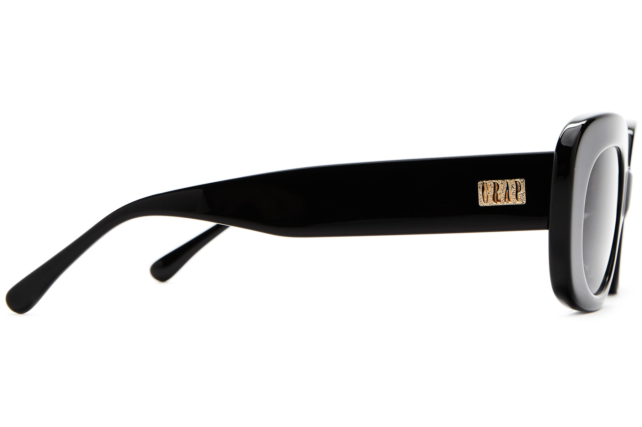 The Velvet Mirror - Black - / Grey - Sunglasses