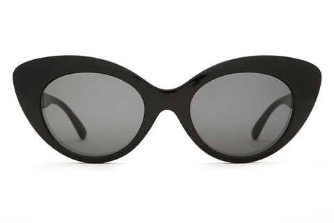 The Wild Gift - Gloss Black - w/ Grey CR-39 Lenses - Sunglasses