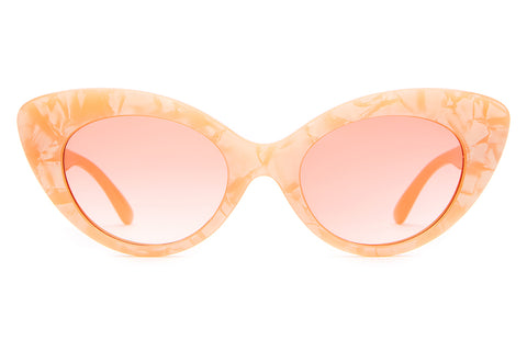 The Wild Gift - Peach Pearl - w/ Peach Gradient CR-39 Lenses - Sunglasses
