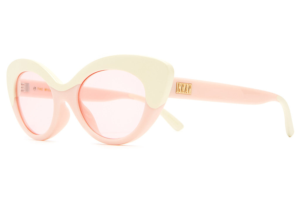 The Wild Gift - Gloss Strawberry Milkshake & Cream - w/ Pink Tint CR-39 Lenses - Sunglasses
