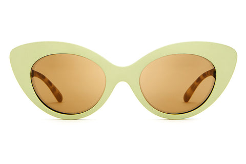 The Wild Gift - Matte Avocado - w/ Bronze Mirror Lenses - Sunglasses