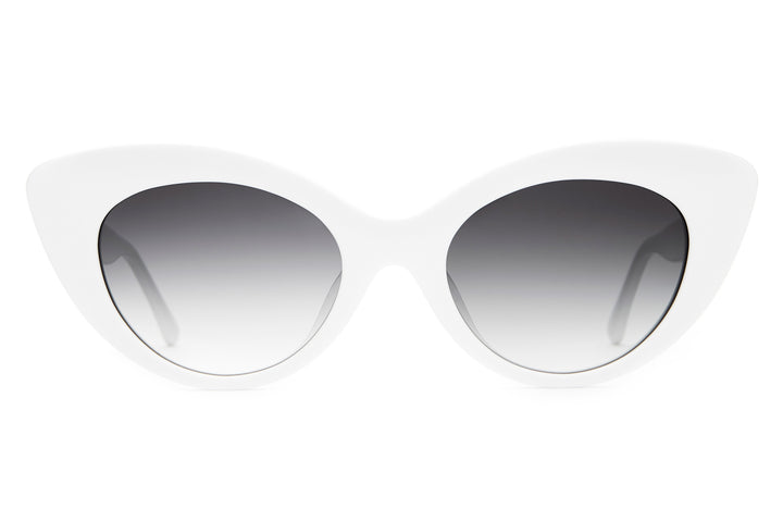 The Wild Gift - White - / Grey Gradient - Sunglasses