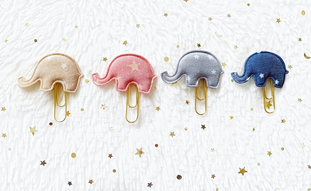 baby elephant clips