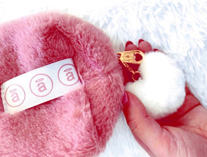 * low stock * angel FUR POUCHES * Limited Edition *