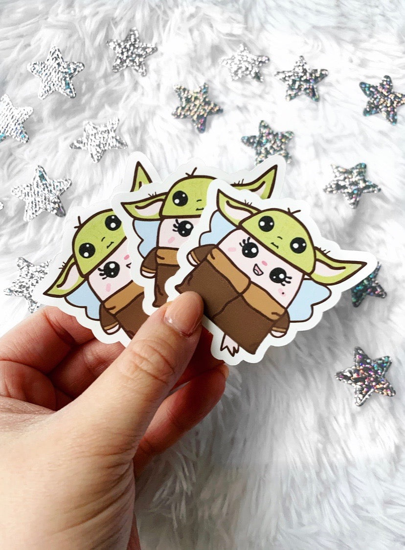 baby Bubz yoda diecut: 5 YEAR COLLECTION