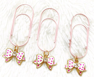 birthday bow dangle clip: BIRTHDAY COLLECTION
