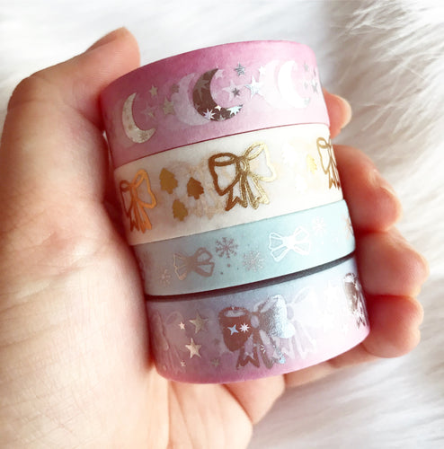 4 washi tapes (DELUXE BUNDLE): Limited Edition - no coupon codes