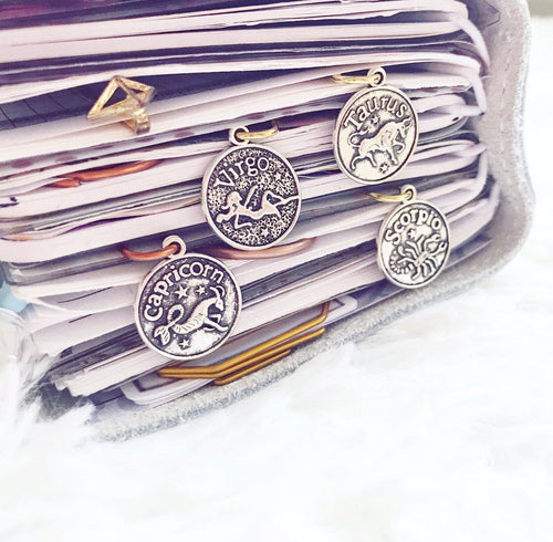 Horoscope clips (dangles)
