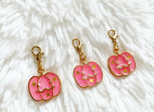 * low stock * glitter pink pumpkin  : BOO collection
