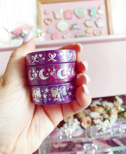 BOO washi tape bundle of 3-  MARCH MADNESS SALE!
