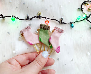 deck the halls, stocking clip