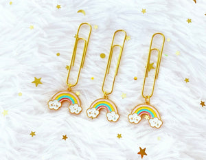 rainbow clouds clip