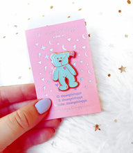 1 left* Beanie Bear Enamel Pin *LIMITED EDITION*