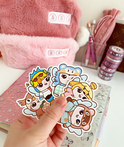 animal crossing bubz diecut