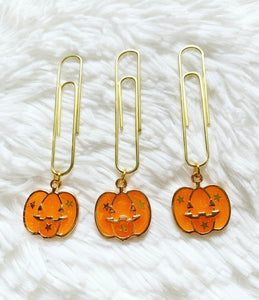 * low stock * glitter orange pumpkin  : BOO collection