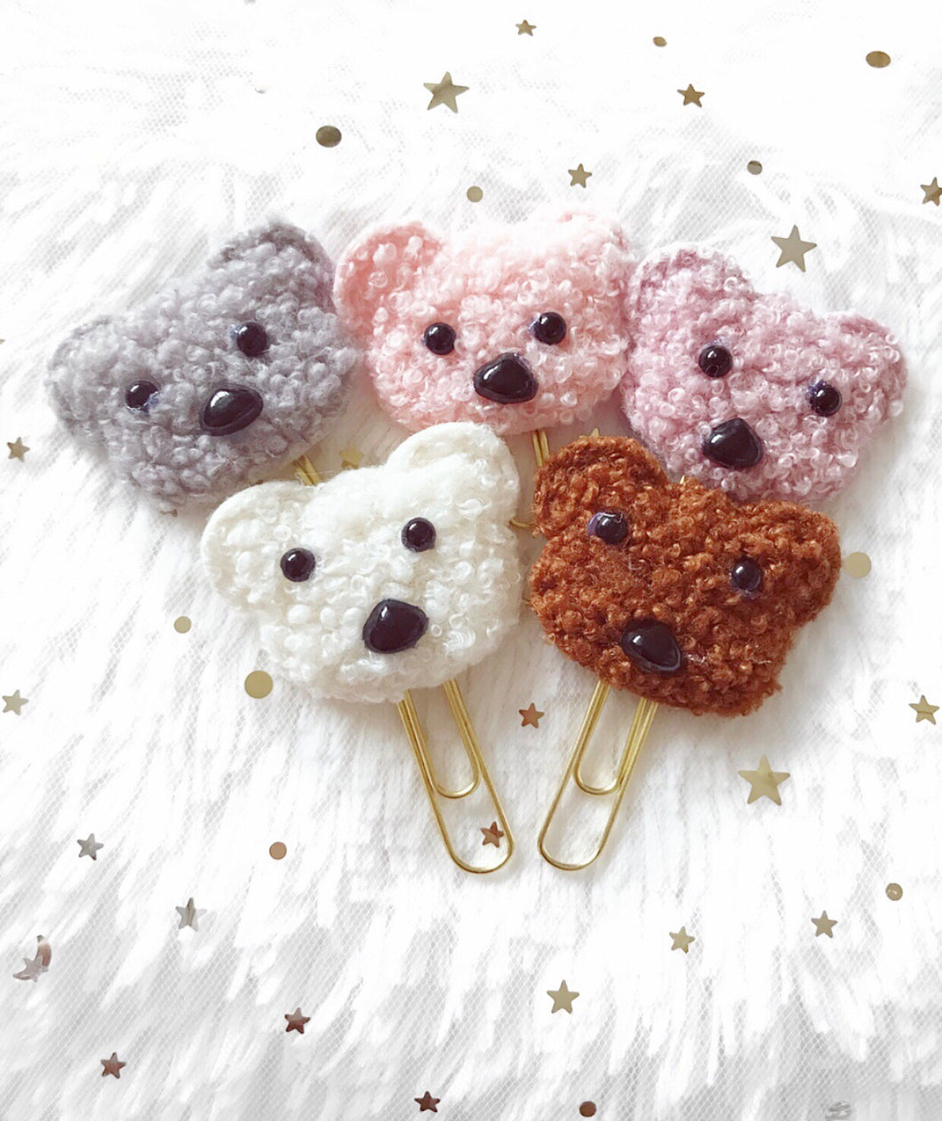 Teddy Teddy Clips