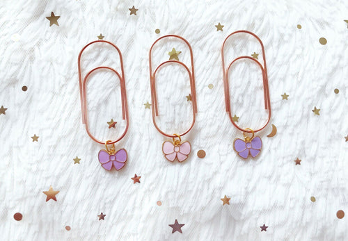 chic spring bows (dangles)