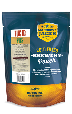 Traditional Series Lucid Pilsner - Mangrove Jacks